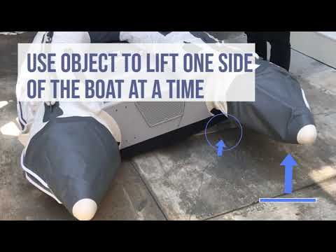 How To Easily Install The Floorboards On Your Inflatable Boat - Newport Vessels