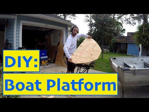 DIY Project: Bass/Jon boat platform and Trolling Motor Install