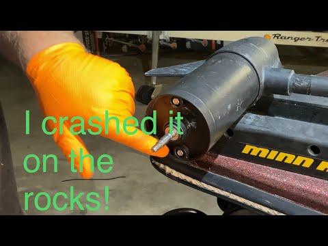 Minn Kota trolling motor shaft replacement
