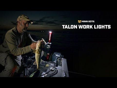 Talon Shallow Water Anchor: Built-In Work Lights   Minn Kota
