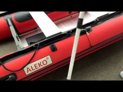 ALEKO® BT320 10.5ft Inflatable Boat with Aluminum Floor