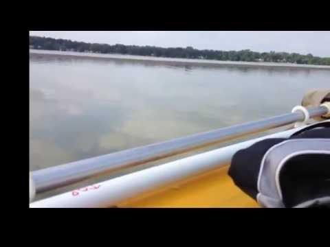 DIY homemade motor mount for Sevylor Super Caravelle Inflatable Boat