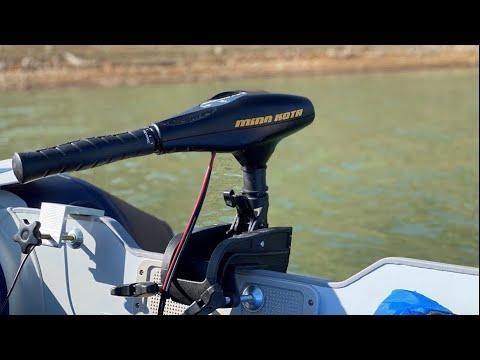 Minn Kota Endura C2 30lb Review On The Water!