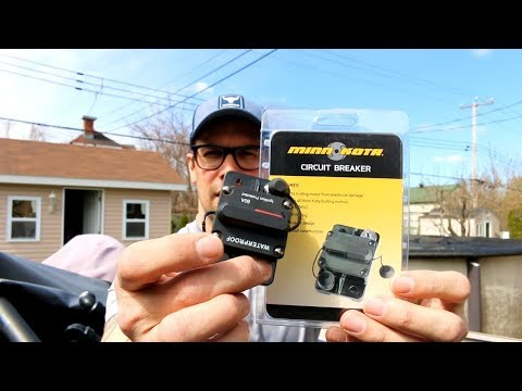 How to properly install wiring for a 24v Minn Kota Trolling Motor with a Circuit Breaker!