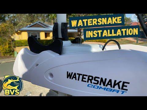 Watersnake - Electric Motor Installation
