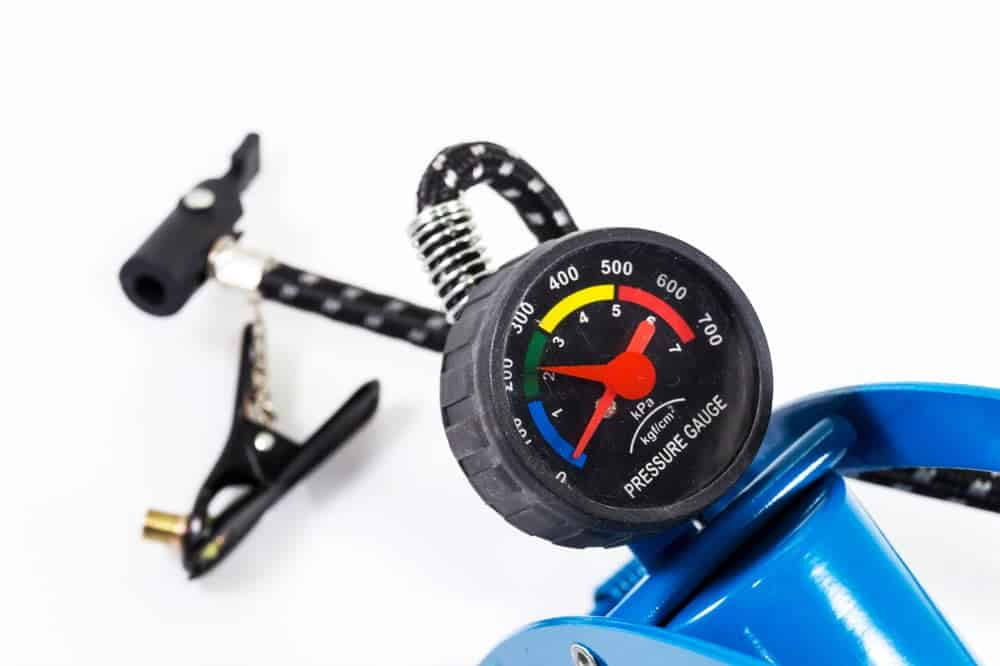 inflatable boat air pressure gauge