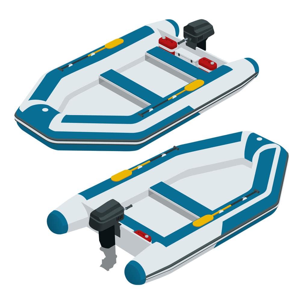 Zodiac-style boats