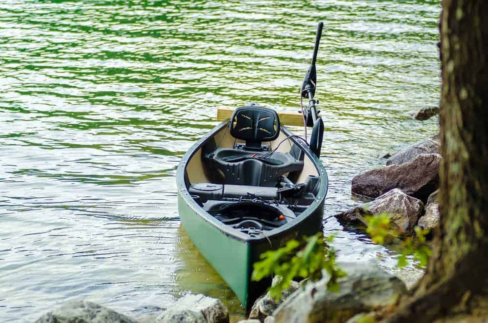 kayak with trolling motor