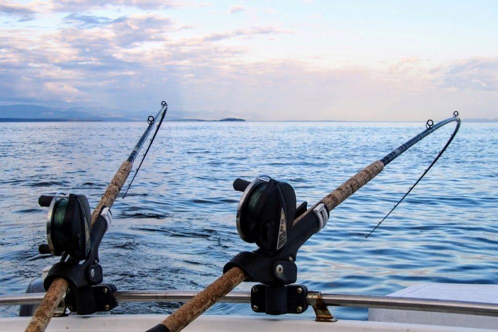Trolling Rod Holders on boat