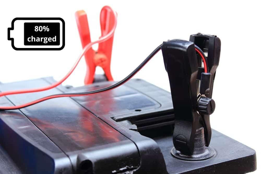 undercharge a trolling motor battery