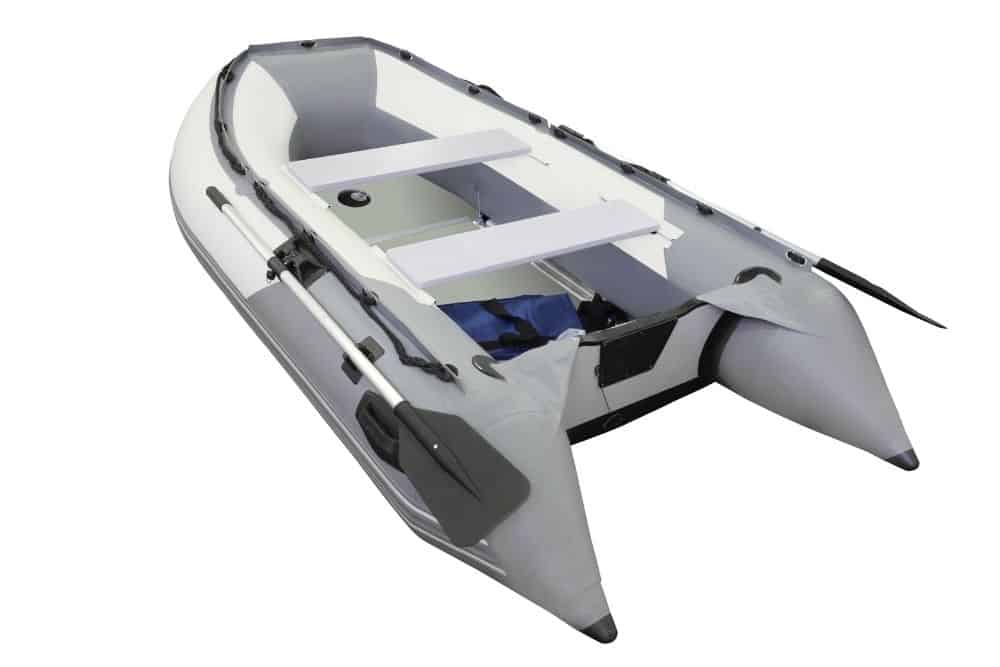 An inflatable boat sample