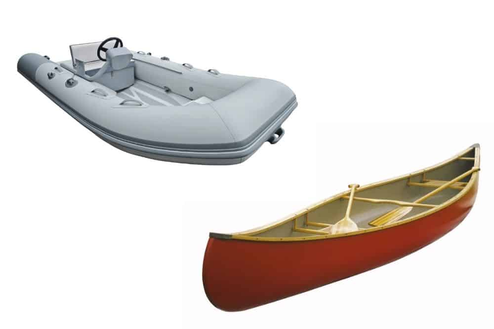 Comparing Inflatable Boat Vs. Canoe