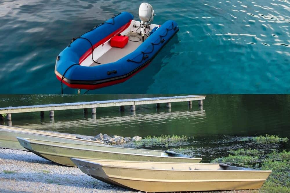 Inflatable Boat Vs. Jon Boat