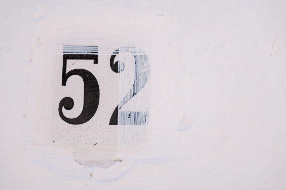 Paint over the old registration numbers