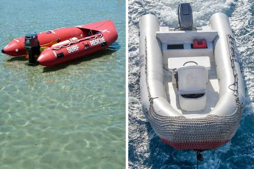 Differences between kaboat and inflatable boat