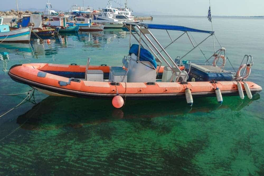How To Install A Bimini Top On An Inflatable Boat