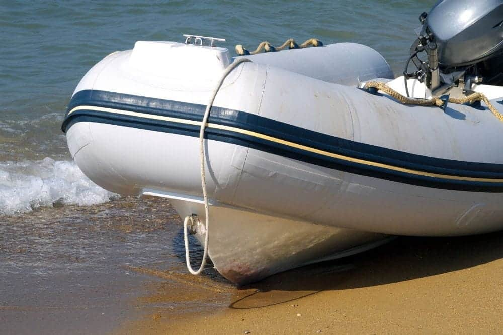 inflatable boat keel