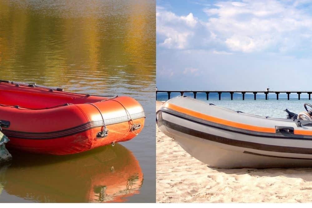 material of inflatable boat vs RIB