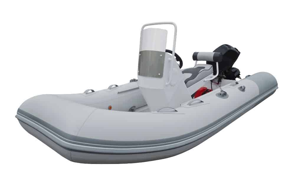 set up air floor inflatable boat