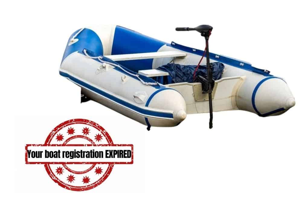 Will your boat registration be expired