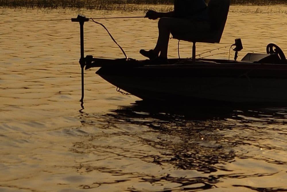 a trolling motor vibrates while fishing