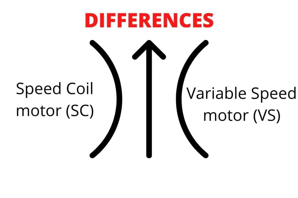 differences between SC motor and VS motor
