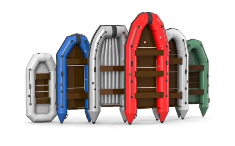 RIBs with different hull shapes