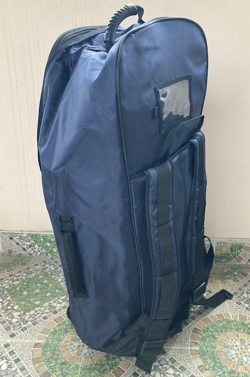 Rolling transport backpack