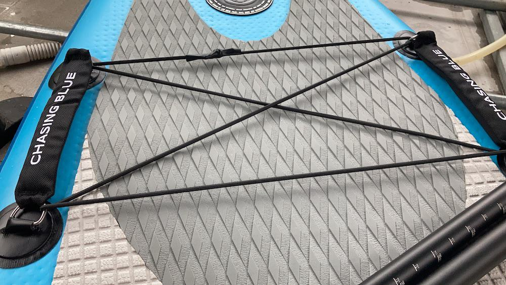 rhombus pattern material for added traction