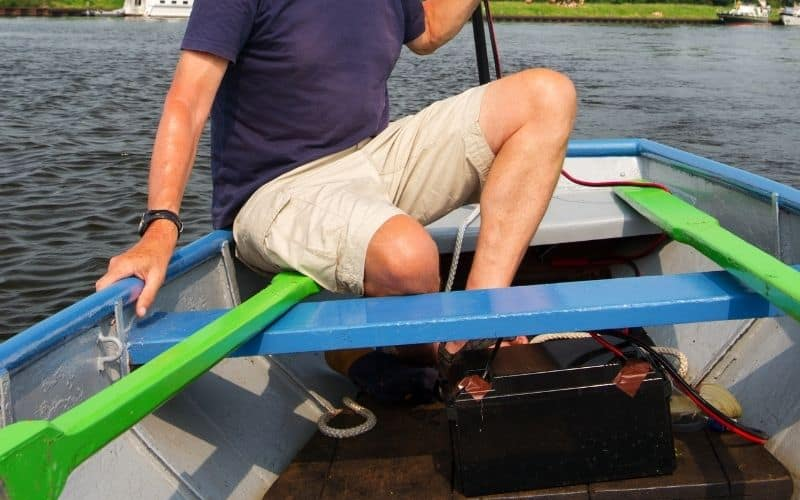 boating in extreme weather condition